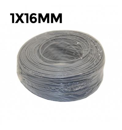 CABLE FLEXIBLE 750V 1X16MM CU GRIS (160g/m)