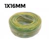 CABLE FLEXIBLE 750V 1X16MM CU TIERRA (160g/mt)