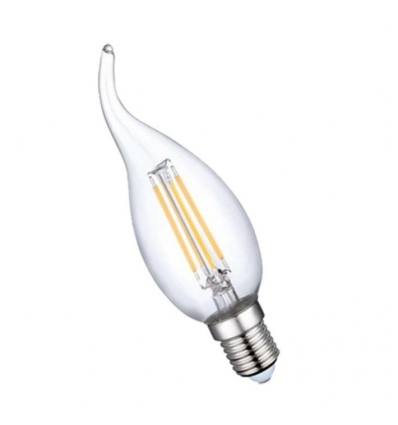 BOMBILLA LED VELA DECORATIVA 3W 220V E-14 300LM